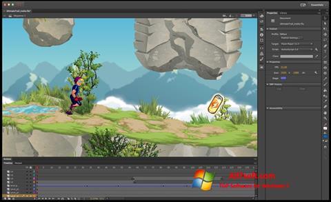 Képernyőkép Adobe Flash Professional Windows 7