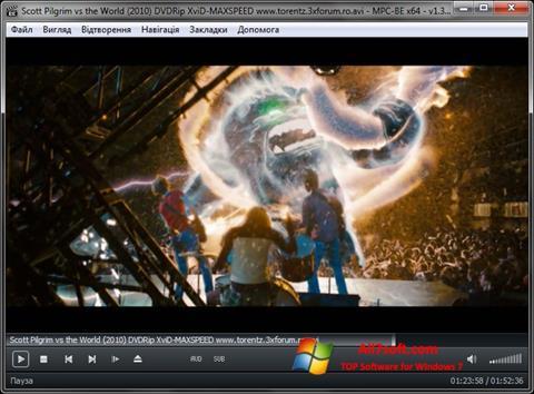 Képernyőkép MPC-BE Windows 7