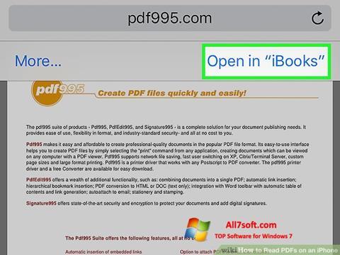Képernyőkép Pdf995 Windows 7