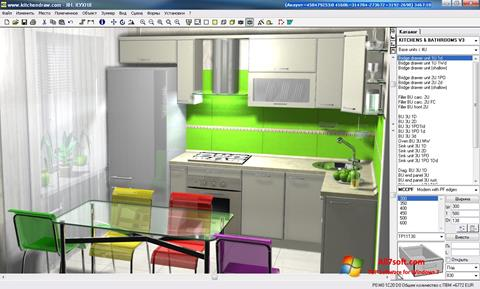 Képernyőkép KitchenDraw Windows 7