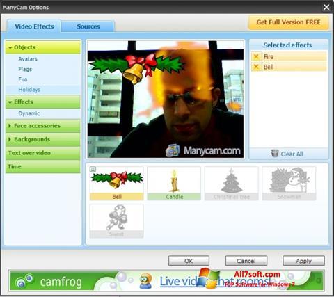 Képernyőkép ManyCam Windows 7
