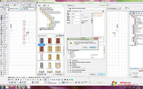 Képernyőkép ArchiCAD Windows 7
