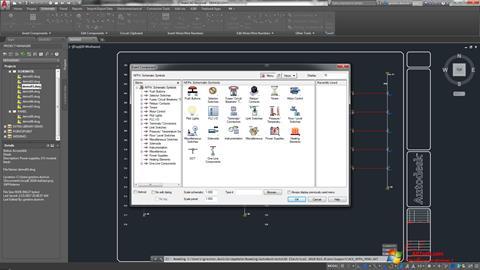 Képernyőkép AutoCAD Electrical Windows 7