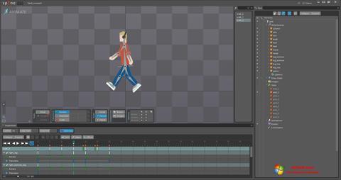 Képernyőkép Spine Windows 7