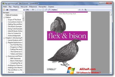 Képernyőkép Sumatra PDF Windows 7