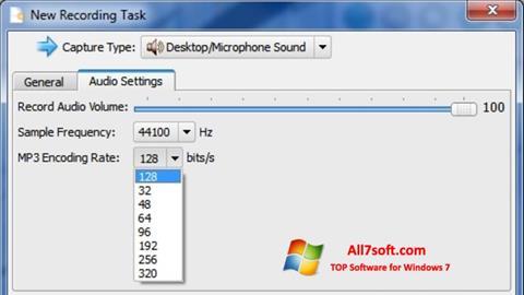 Képernyőkép SMRecorder Windows 7