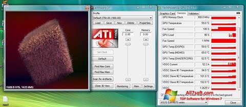 Képernyőkép ATITool Windows 7