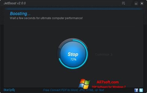 Képernyőkép JetBoost Windows 7