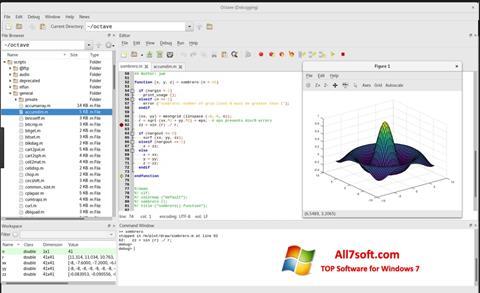 Képernyőkép Octave Windows 7