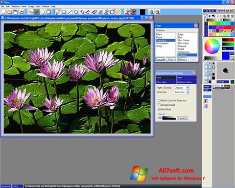 Képernyőkép Pixia Windows 7