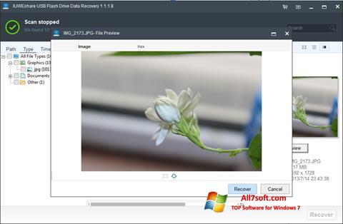 Képernyőkép USB Flash Drive Recovery Windows 7
