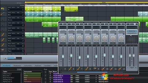 Képernyőkép MAGIX Music Maker Windows 7