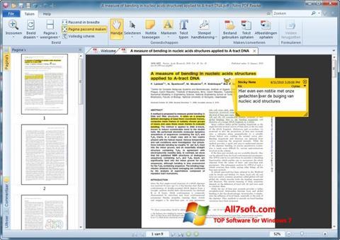 Képernyőkép Nitro PDF Reader Windows 7