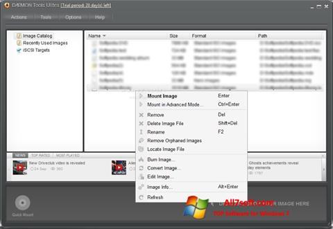 Képernyőkép DAEMON Tools Ultra Windows 7
