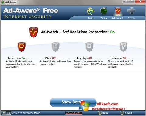Képernyőkép Ad-Aware Windows 7