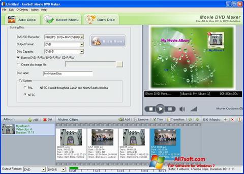 Képernyőkép DVD Maker Windows 7