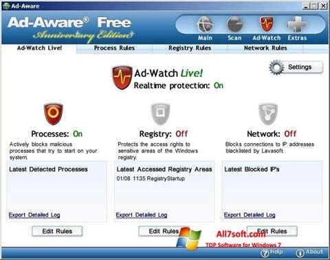 Képernyőkép Ad-Aware Free Windows 7