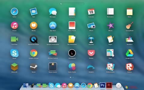 Képernyőkép OS X Flat IconPack Installer Windows 7