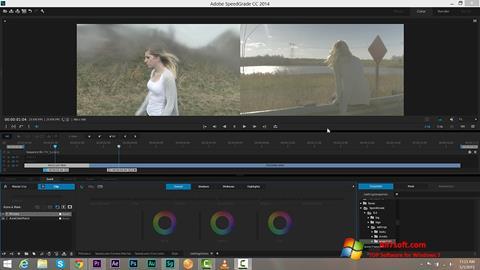 Képernyőkép Adobe SpeedGrade Windows 7