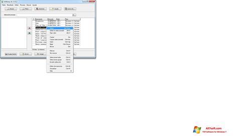 Képernyőkép ArtMoney Pro Windows 7