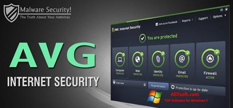 Képernyőkép AVG Internet Security Windows 7