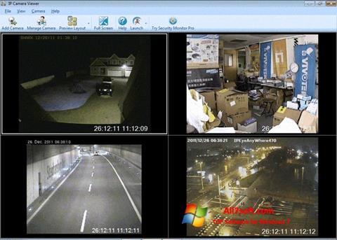 Képernyőkép IP Camera Viewer Windows 7