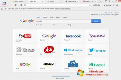 Képernyőkép Spark Windows 7
