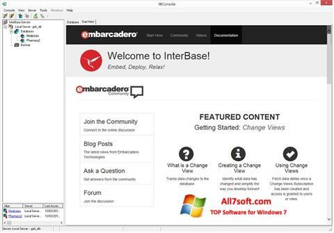 Képernyőkép InterBase Windows 7