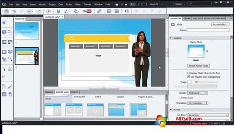 Képernyőkép Adobe Captivate Windows 7