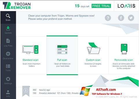 Képernyőkép Loaris Trojan Remover Windows 7
