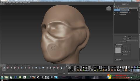 Képernyőkép Mudbox Windows 7