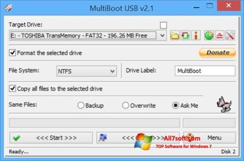 Képernyőkép Multi Boot USB Windows 7
