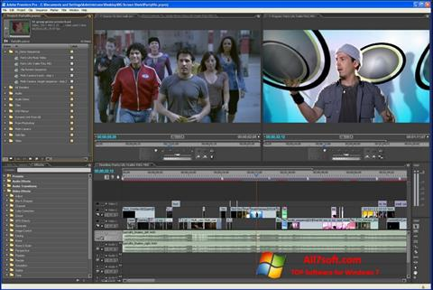Képernyőkép Adobe Premiere Pro Windows 7