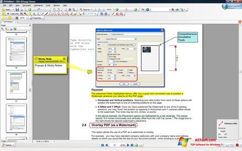 Képernyőkép PDF-XChange Viewer Windows 7
