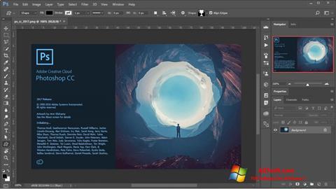 Képernyőkép Adobe Photoshop Windows 7