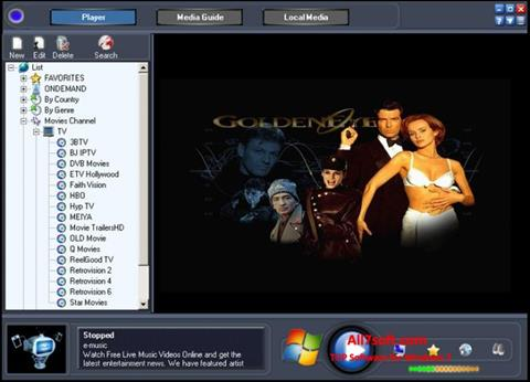Képernyőkép Online TV Live Windows 7