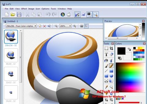 Képernyőkép IcoFX Windows 7