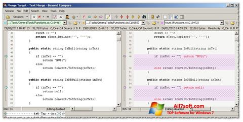 Képernyőkép Beyond Compare Windows 7