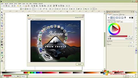 Képernyőkép Inkscape Windows 7