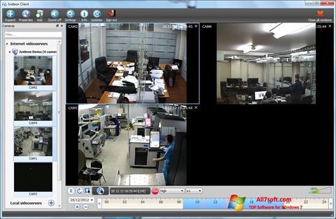 Képernyőkép Ivideon Server Windows 7