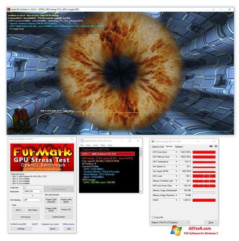 Képernyőkép FurMark Windows 7