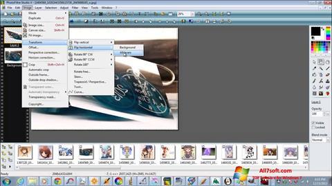 Képernyőkép PhotoFiltre Studio X Windows 7