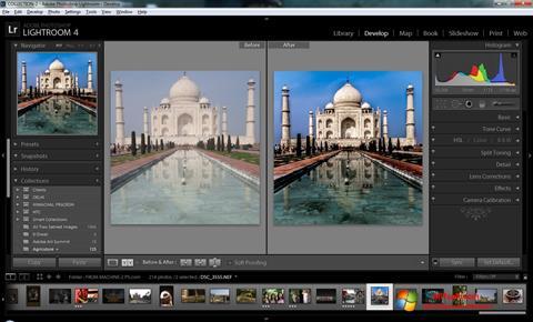 Képernyőkép Adobe Photoshop Lightroom Windows 7