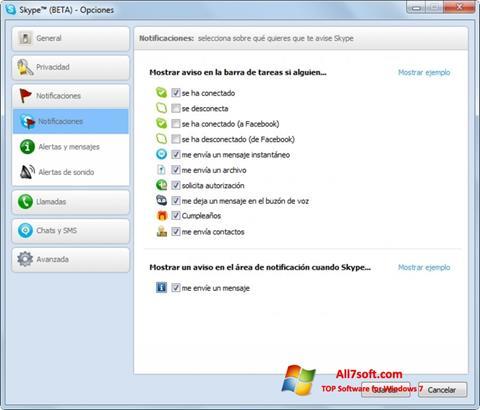 Képernyőkép Skype Beta Windows 7