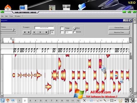 Képernyőkép Melodyne Windows 7