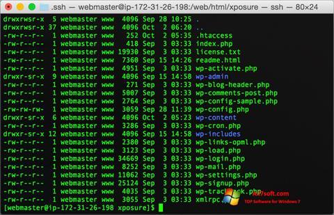 Képernyőkép Wget Windows 7