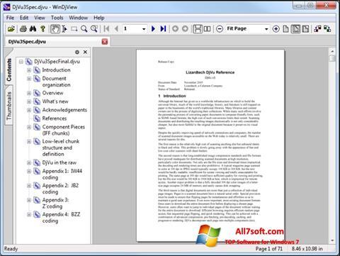 Képernyőkép WinDjView Windows 7