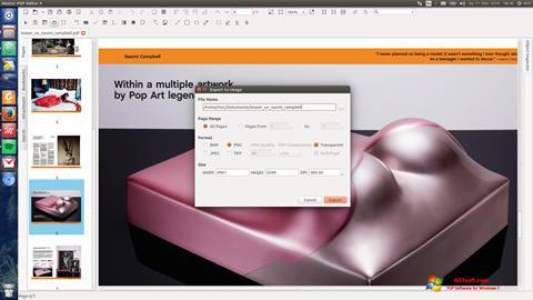 Képernyőkép Master PDF Editor Windows 7