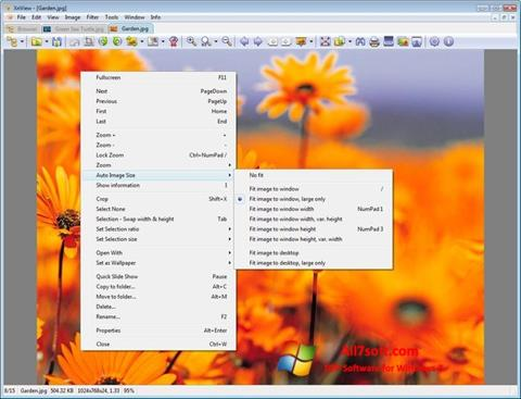 Képernyőkép XnView Windows 7