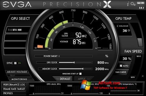 Képernyőkép EVGA Precision X Windows 7